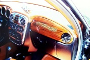 wood grain dash in PT Cruiser