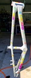 BMX Bike frame for McKenzi Gayheart #1 rider National