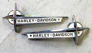 Restored Harley Emblems
