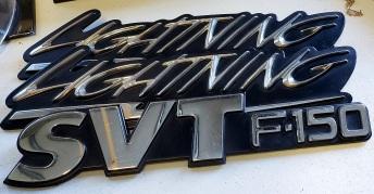 Restored Ford Emblems