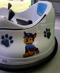 Kids Bumper car Paw Patrol theme