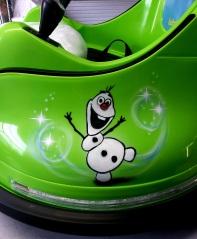 Kids Bumper car Frozen theme