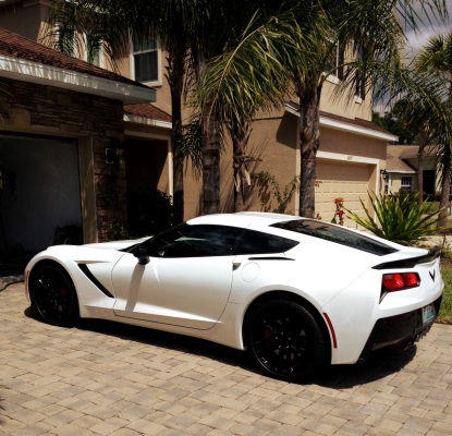 Vette Breaks painted red