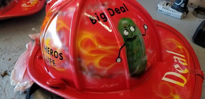 Fireman Helmet design