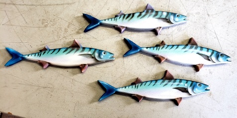 Fish Wall Plaques
