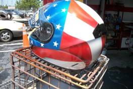 Patriotic helemt