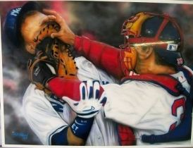 baseball collectable art...see below