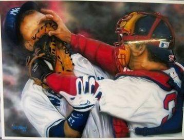 baseball collectable art...see below