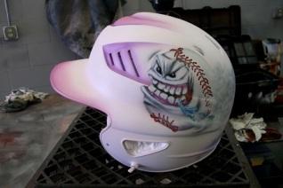 Girls softball helmet