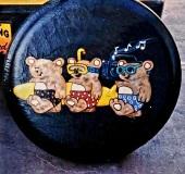 cartoon Bears on Tire Cover