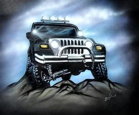 Custom jeep design
