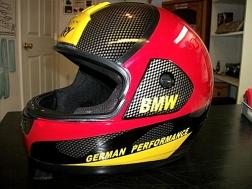 Graphic style helmet