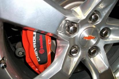 front brake calipers painted