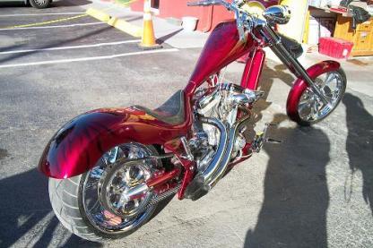 Candy red chopper