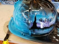 9/11 memorial fund helmet