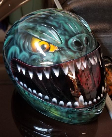 Godzilla Helmet