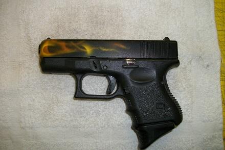 True fire on Glock