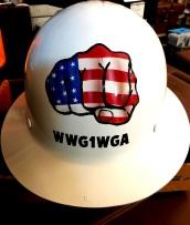 Hard Hat USA Theme Back side