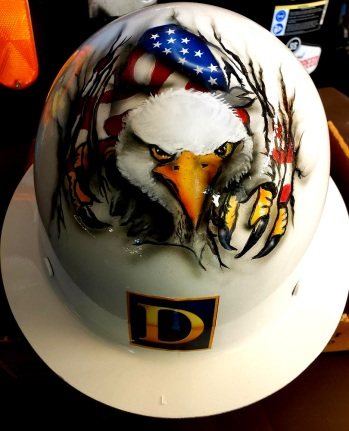 Hard Hat USA Theme front side