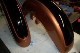 2 Tone Paint/ Harley
