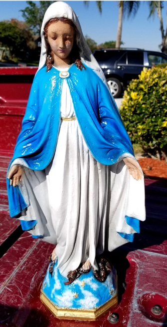 Garden Mary Statue