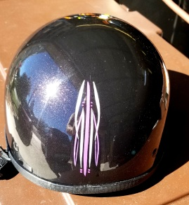 Mystic Purple candy Helmet