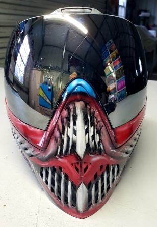 evil clown Paint Ball Mask