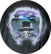 Pirate theme with later century guns