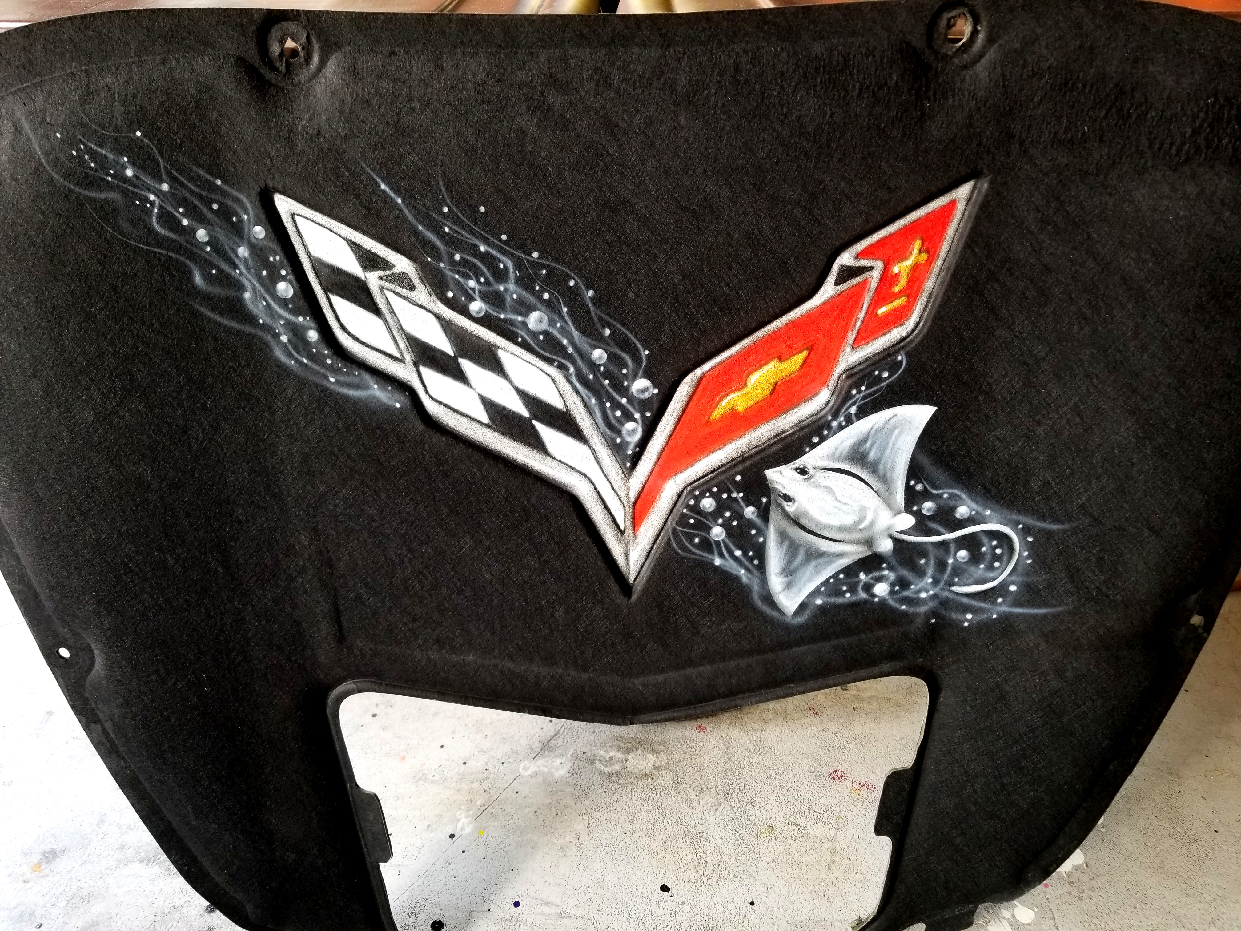 Bill Hood Chevy >> Corvette Hood Liners & Others | Big Boy Airbrush Co.