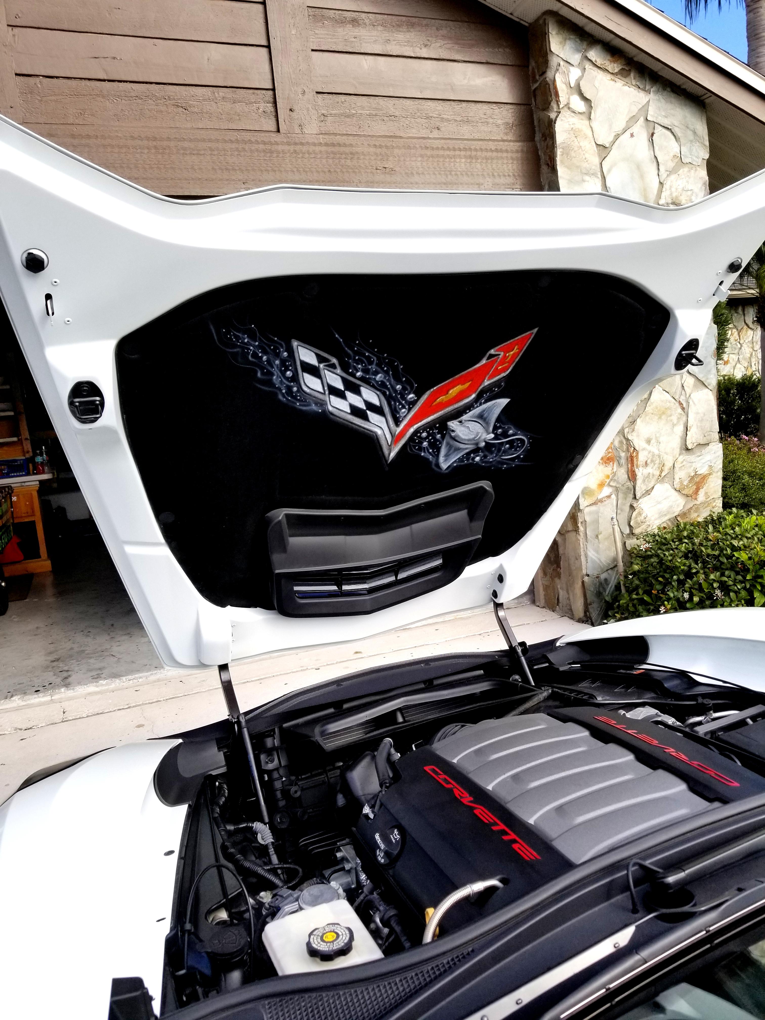 Corvette Hood Liners Amp Others Big Boy Airbrush Co