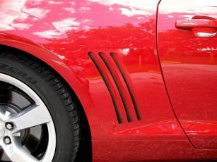 Airbrushed side vents