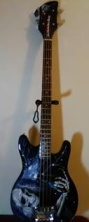 Rocker Skull on Guitar
