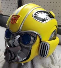 Actual working Transformer helmet