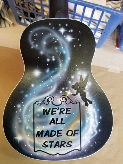Peter Pan Themed Ukulele