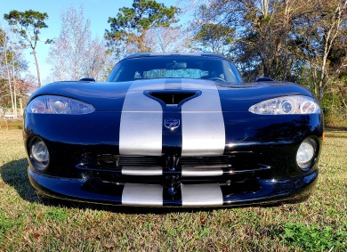 Viper rally stripes front