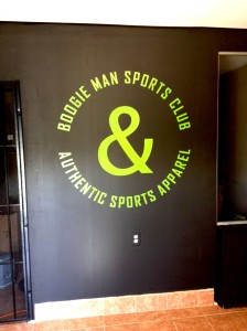 Interior Logo for clothing store in Tampa