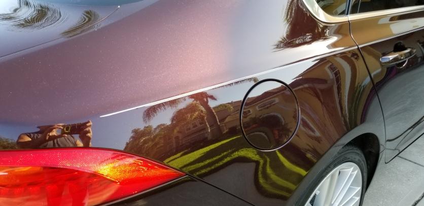 Stripes on Jaguar