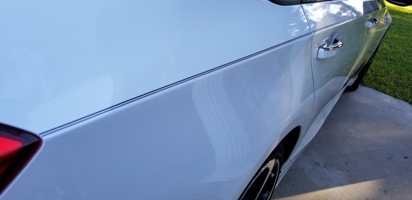 Stripes on Honda w/Logo