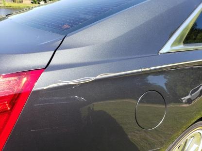 2014 Caddy striped