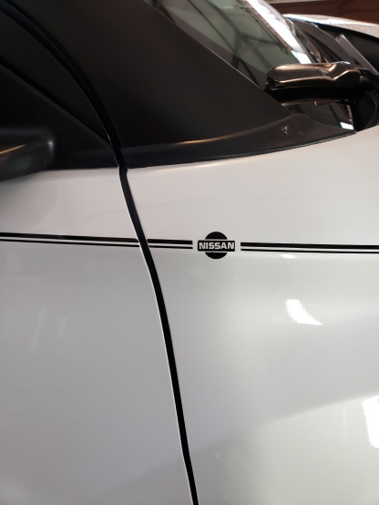 Nissan Body Lines and Logo