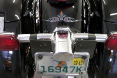 Accent on rear fender
