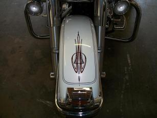 Front fender stripes