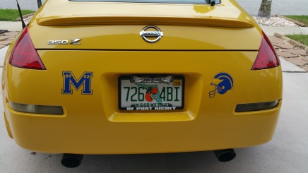 Airbrushed Michigan logo and Helmet