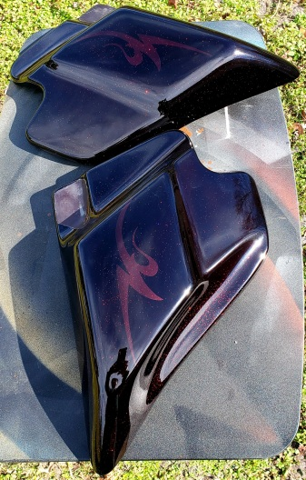 Custom Black Cherry paint & Ghosted Graphics
