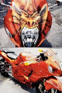 Dragon Themed Hyabusa