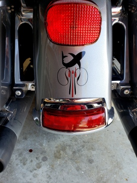 Shark themed Harley